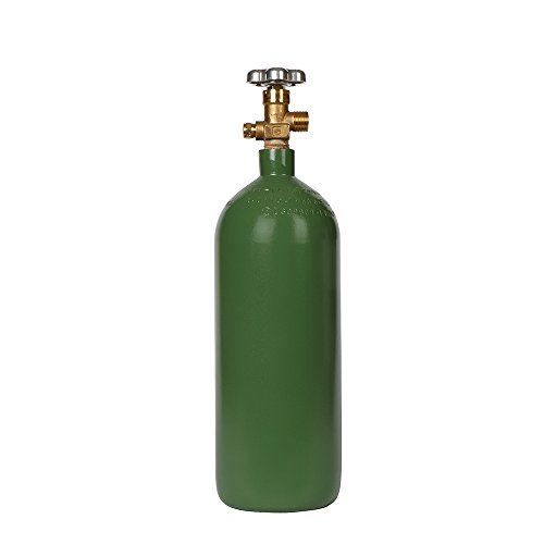 New 40 cu ft Steel Oxygen Cylinder with CGA540 Valve