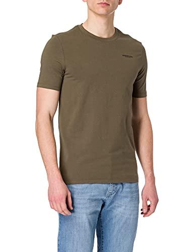 G-STAR RAW Mens Base Slim T-Shirt, Combat C723-723, L