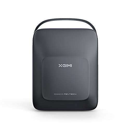 Appar Projektor-Tasche für XGIMI MOGO/MOGO Pro, tragbare Hartschalenkoffer für Projektoren, PU, kompatibel mit der MoGo Serie und Zubehör