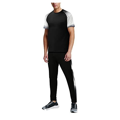 GenericBrands Taurner Conjunto Chándal de 7 Piezas Fitness Traje Deportivos Para Hombre Camisetas y Pantalones de Entrenamiento Casual