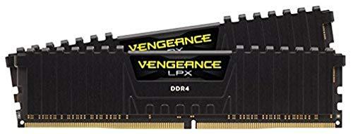 Corsair Vengeance LPX Memorie per Desktop a Elevate Prestazioni per AMD Ryzen e Intel 200, 16 GB (2 X 8 GB), DDR4, 2400 MHz, C16 XMP 2.0, Nero