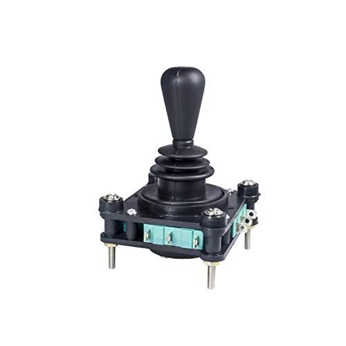 YUANJING-PHONE CASE Durable 5A 240V Interruptor 4NO 4NC MUMPURARIO 2 4 POSICIÓN 360 Grados de Retorno de Resorte de 360 Grados 2.5 mm Fijación de Rosca Cross Monolever Interruptor
