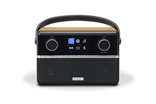 Roberts Radio Stream94i mit Bluetooth-Adapter mit Verbindung zu Spotify (Spotify Connect) 248 Width x 210 Height x 135 Depth holz