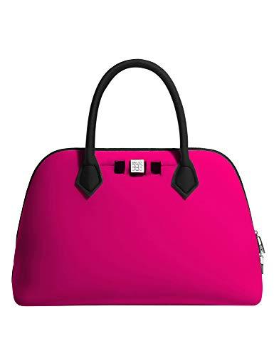 save my bag, Borsa a mano donna Grigio Grey Taglia unica Beach Party Taglia unica