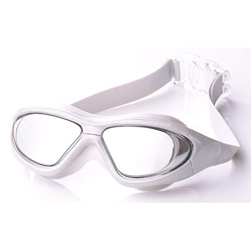 FENGSHUAI volwassen zwembril, waterdicht en anti-mist grote doos bril voor vrouwen, mannen