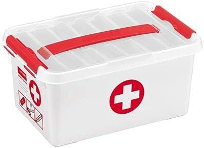 Popularity Arlington Mall First Aid Storage Box Litre - 6