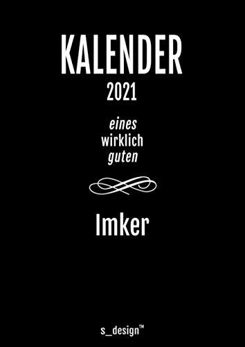 Kalender 2021 für Imker / Imkerin: DIN A4 Tagesplaner / Wochenplaner / Terminkalender für das ganze Jahr: Termin-Planer / Termin-Buch / Journal für ... von 7 bis 21 Uhr (4 Termine pro Stunde)