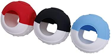 CHINFAI Silicone Grip Case for Pokeball Plus Controller Protective Cover with Thumbsticks for product image