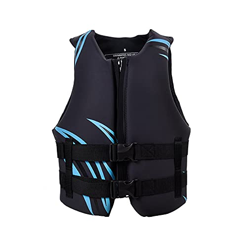 CYzpf Chaleco Salvavidas Adulto Profesional Flotación Portátil Ayuda de la Nadada Vest Flotabilidad Equipamiento para Deportes Acuáticos Kayak Canotaje Snorkel,S