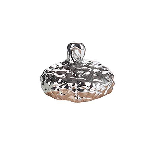Oyrcvweuy Oycy DIY Silikonform Anhänger Kappe Halter Epoxidharz Schmuckherstellung Werkzeuge Halskette Formen 3D Geschenke Fondant Kuchen Bäckerei