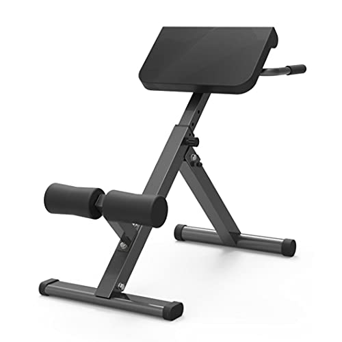 Yinguo Height Adjustable Roman Chair Back & Ab Trainer, Foldable Weight...