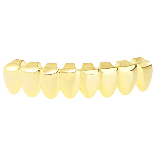 Grillz - Gold - One Size fits All - Bottom Teeth 8