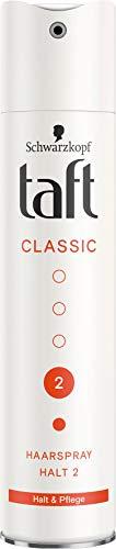 Taft Haarspray Classic Halt & Pflege Halt 2, 250 ml
