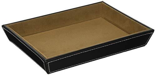 クレエ orie A5トレイ ブラックレザー 23×17×3.5cm 9192-0033