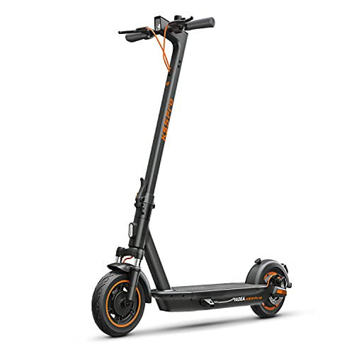 YADEA Electric Kick Scooter KS5pro, 40 Miles Range, Max Speed 21.8 MPH, Front Suspension, One-Step Foldable Commuter Electric Scooter for Adults with Cruise Control and Energy Recovery System, Black