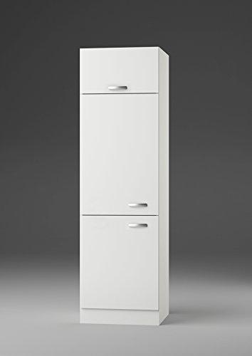 idealShopping GmbH Kühlschrankumbau H661-9 in weiß glänzend