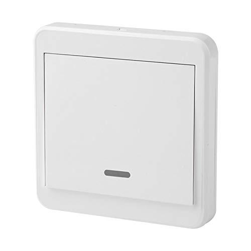 Lantuqib Control Remoto inalámbrico, Interruptor de relé, Interruptor de relé Receptor, fácil de Instalar para Receptor inalámbrico para prevenir Accidentes por descargas eléctricas(1 Way)
