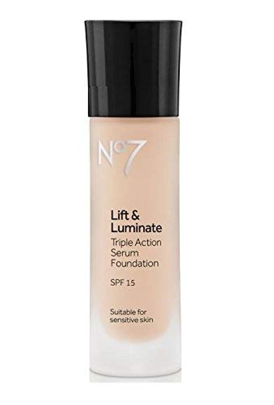 No7 Lift & Luminate TRIPLE ACTION Serum Foundation - Cool Ivory