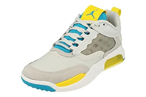 Nike Air Jordan MAX 200 Hombre Trainers CD6105 Sneakers Zapatos (UK 6.5 US 7.5 EU 40.5, Pure Platinum Laser Blue White 004)