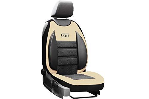 Auto Abdeckung GT Beige Sitzbezug geeignet für Toyota Hilux Universall