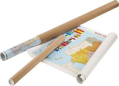Faibo 163G - Mapa de Europa plastificado, sin marco
