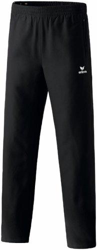 erima Uni Trainingshose Mit Durchgehendem Reißverschluss, schwarz, 110233, 4 EU (30 UK)