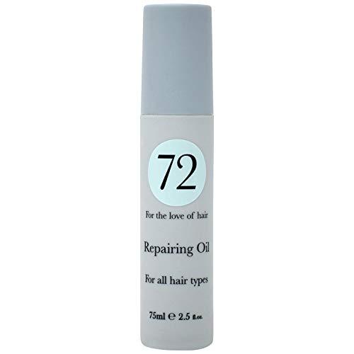 72 Hair aceite reparador para el cabello, sin crueldad y vegano, para un...