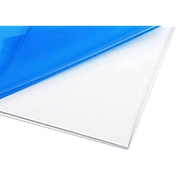 Amazon Com Clear Polycarbonate Lexan Sheet 3 8 12 X 24 Office Products