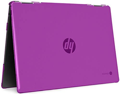 mCover Carcasa rígida compatible con portátiles HP Chromebook X360 14A-CAxxxx Series de 14 pulgadas (no compatible con otros ordenadores HP Chromebook y Windows) (HP CX360-14A-CA, púrpura)