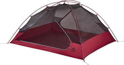 MSR Zoic 3-Person Lightweight Mesh Backpacking Tent with Rainfly