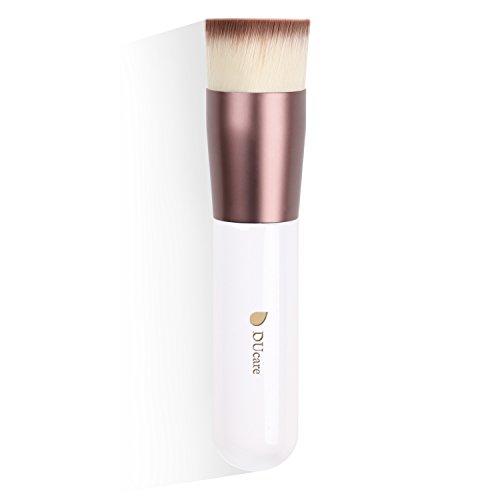 Make up Pinsel Kabuki Foundation Brush Flat Top Professionelle Vegan Kosmetik Gesicht Puderpinsel...