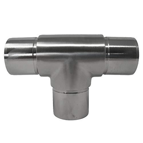 T-Stück Premium Edelstahl für Handlaufrohre Außen Ø 42,4 mm von SO-TOOLs®
