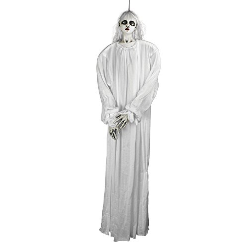 Bristol Novelty hi299hembra colgante fantasma, color blanco, talla única