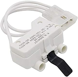 AMI PARTS 3406107 Dryer Door Switch for Whirlpool Kenmore AP6008561 PS11741701