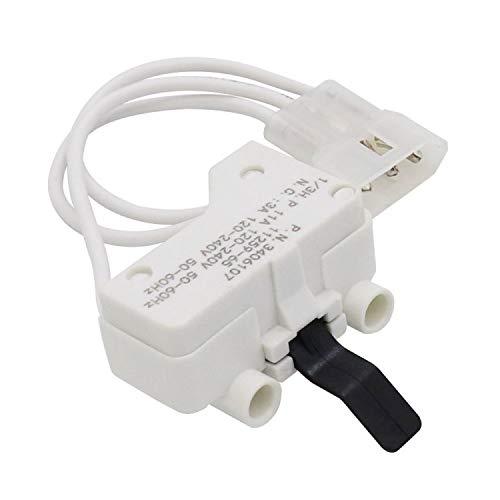 AMI PARTS 3406107 Dryer Door Switch for AP6008561 PS11741701