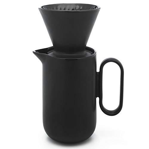 Leopold Vienna - Cafetera de cerámica con filtro permanente