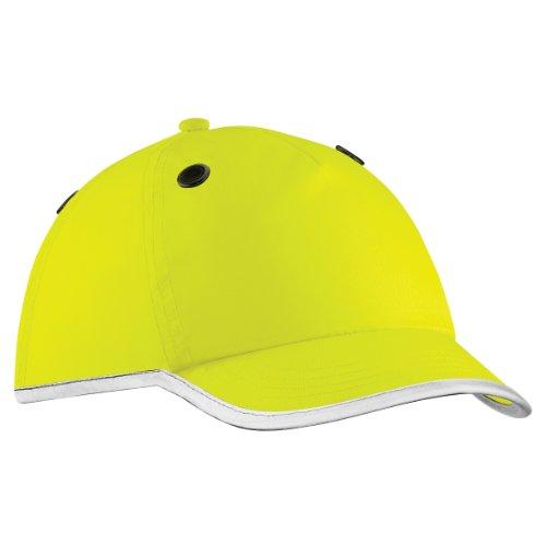 Beechfield Coolmax® - Casquette de chantier haute visibilité et contour réfléchissant - Adulte unisexe (Taille unique) (Jaune fluo)