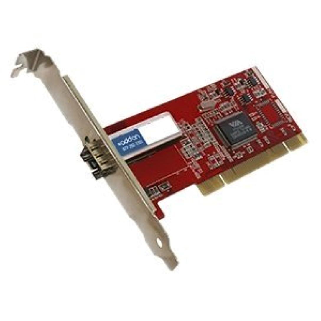 追記導体解明AddOn - Network Upgrades Fast Ethernet NIC Card with 1 Open SFP Slot PCI 32Bit [並行輸入品]