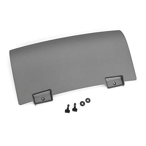 8R0807819H1RR Verschlussdeckel mitte Anhängerkupplung AHK Anhänger Blende platiniumgrau (nur für S-Line Stoßfänger)