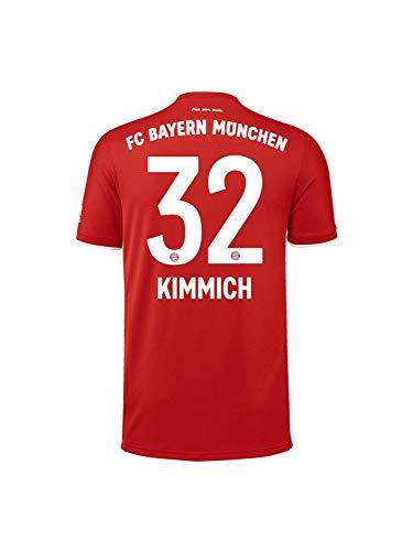 FC Bayern München Kinder Home-Trikot Saison 2020/21, Gr. 140, Joshua Kimmich