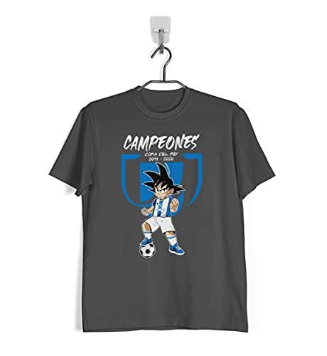 Camiseta de la Real Sociedad campeón de Copa del Rey 2019-2020 (XL)