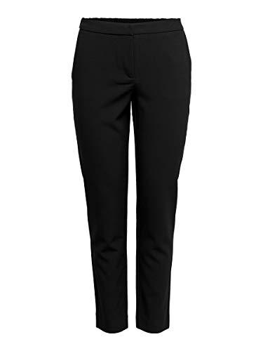 ONLY Damen Onlinca Mw Cigarette Pants Cc TLR Hose, Schwarz (Black Black), W(Herstellergröße:40)