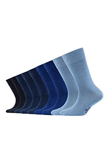 s.Oliver Kinder Socken, 9er Pack - Gr. 27-30 - Blue