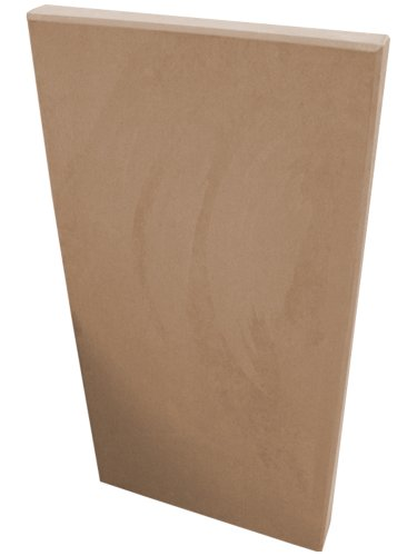 Acoustimac Sound Absorbing Acoustic Panel SUEDE 4' x 2' x 2' KHAKI