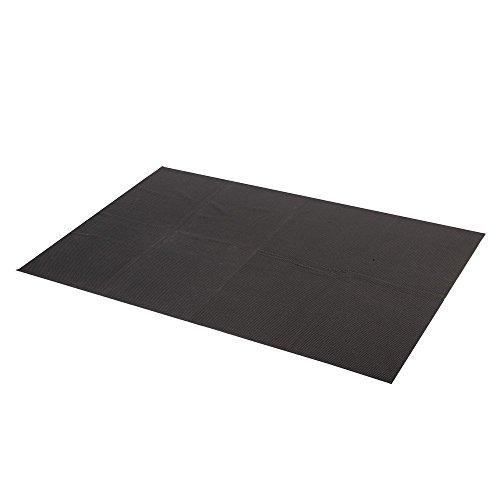 Antirutschmatte für KFZ Kofferraum 90x60cm Schmutzfangmatte , schwarz (geschlossen)
