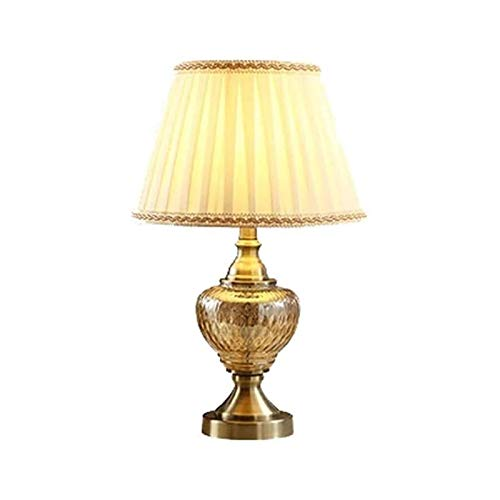 DIBAO Lámpara de Mesa de Noche de Dormitorio Lámpara de Mesa de...