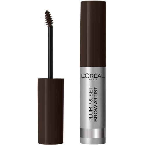 L Oréal Paris Makeup Mascara Sopracciglia Formula Waterproof No Transfer, 108 Dark Brunette