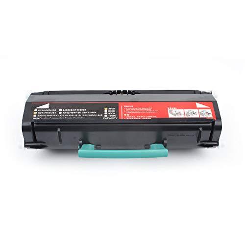 Cartucce di toner nero per stampanti laser, cartucce di toner a polvere facile da usare per la casa o l'ufficio, cartucce di stampa di grandi dimensioni, adatte per Lexmark X264DN / X363DN / X364DN /