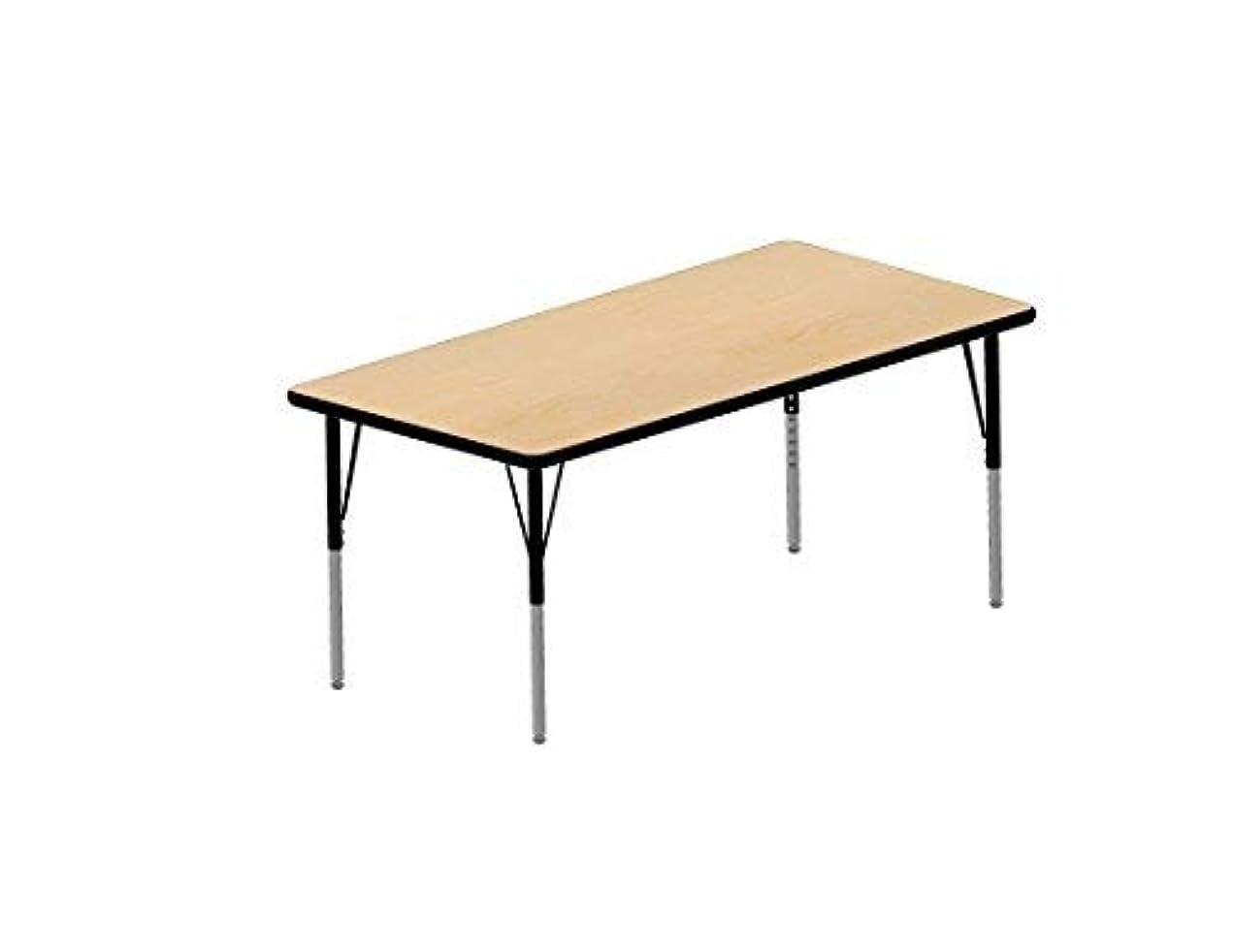 議論するトランク断片Multi-Functional Collaborative Activity Table - Genesis Collection - Rectangle - 30 W x 60 L [並行輸入品]