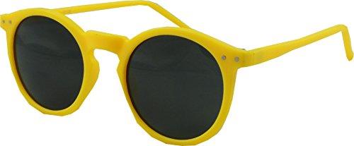 Revive Eyewear Gafas de sol estilo retro vintage Geek College Amarillo amarillo Talla única